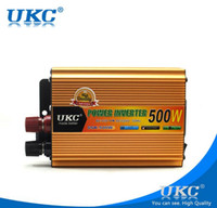 Wholesale Updated version Modified Sine Wave W Portable Automotive Power Inverter Charger Converter for Car Auto DC V to AC V USB Free Ship