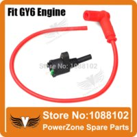 Cheap Racing High Performance Ignition Coil Dirt Pit Monkey Bike ATV QUAD GY6 Scooter DIO 18 28 ZX 5 Free Shipping