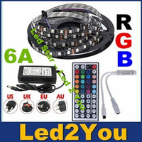 power supply board - Black PCB Board Led RGB Strip Light M Reel IP65 IP22 Led Tape Waterproof LEDs keys IR Remote A Power Supply