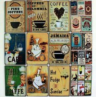 Graphic vinyl PVC Animal 12 types abstract metal vintage poster of retro wall art tin signs for home cafe bar decor crafts decoration cocina