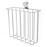 Wholesale Over The Tank Toilet Magazine Newspaper Metal Wire Rack Organizer Holder Shelf
