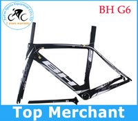 bh - Road carbon frame BH G6 B3 white full carbon fiber road bike frame bicycle frameset size XS S M L available sell look rb100 SL5 frames