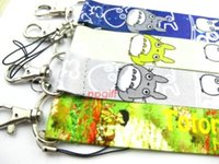 anime cell phone straps - New Mix Pattern Anime My Neighbor TOTORO Lanyards Cell Phone PDA Key ID Strap Charms