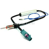 Precio de Car antenna amplifier-Adaptador de refuerzo adaptador FAKRA amplificador GPS radio de coche de la señal amplificada antena aérea para vw opel skoda audi
