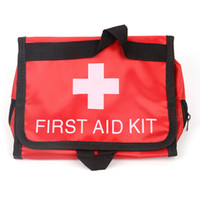 Wholesale 5pcs Professional empty bag family Emergency Survival FIRST AID KIT Bag for Treatment Pack Travel Sports Medical high quality