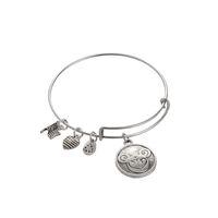 Wholesale 2016 Charm Gift Diy Pulseira Feminina Pulseira Masculina Alex and Ani h Bracelet Expandable Wire Bracelet Mickey Head Pendant Love Bangle