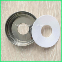 Wholesale 6pcs Stainless Steel Soap Pump Dispenser Lid only quot Adapters quot for Mason regular Ball Jars without pump