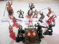 ancient roman gifts - 1set Classic Knight toys Ancient Roman soldier toys for children Castle Toys for kid Christmas gifts Action Figure Knight doll