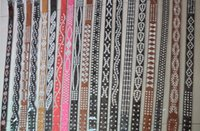 western rhinestone belts - pieces Women Bling Western Rhinestone cowboy cowgirl Leather Belt in mix design and size