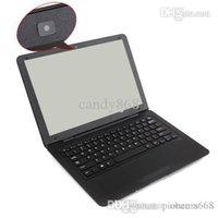 Wholesale WholesaleDHL FEDEX INCH new quot Laptop Notebook Computer D425 GB DDR GB White Black Color