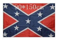 Wholesale 500pcs The Truth About the Confederate Battle Flags Two Sides Printed Flag Confederate Rebel Civil War Flag National Polyester Flags DHL