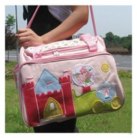 Wholesale Mummy bag baby diaper bag nursery bag four colors mixed order sets