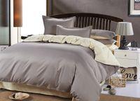 Wholesale-Larry Plain Solid Bedding Set Super King Size Wedding Denim  Bedding-set Bed Sets Duvet Cover Sheets Pillow Without Comforter