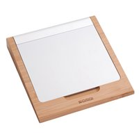 apple bluetooth touchpad - Original Samdi Classic Bamboo Wireless Bluetooth Touchpad Dock Vogue Rack Holder Stand Bracket for Apple Magic Trackpad Macbook order lt no