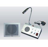 Wholesale Security Audio intercom Kit audio Intercom System V V English Version Window Intercom Dual way Intercom For Counter