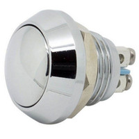 bell button metal - New high quality mm quot Anti Vandal Momentary Metal Push button Switch Dome Top Door bell switch