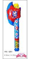 axe head - x25cm AXE cheering stick cartoon head balloon clappers inflatable balloon stick