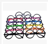 Wholesale 10 colors fashion new sunglasses Plastic Candy Color children eyewear harry potter arale round glasses frame G000418