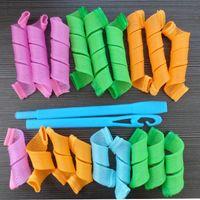 Wholesale 18pcs Amazing Magic Leverag Hair Curlers Curlformers Hair Roller Hair Styling Tools