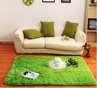 anti skid mat - Floor Rug Soft Solid Anti skid Carpet Living Dining Bedroom Flokati Shaggy lanital Mat Rug High Quality