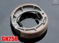 Wholesale NEW SUZUKI GT200 SB200 SX200 GN250 GZ250 ST250 TU250 VL250 FRONT REAR BRAKE SHOES