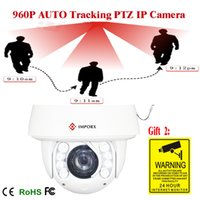 Wholesale CCTV Camera X Optical Zoom IR M High Speed Dome Full HD1080P Auto Tracking PTZ IP Camera