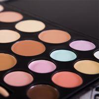 bare case - Brand Makeup Palette Color bare minerals Foundation Camouflage Concealer Professional Queen make up Black Case FG20 V1050A
