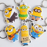 Wholesale New Arrival Summer Style Minion Anime Figure Pendant Despicable Me Minions Toys Hobbies Party Promotion Gifts