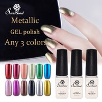 best gel manicure kit - Saviland Metallic Mirror Effect Nail gel polish soak off LED nails set gel lacquer French manicure kit best on Ali