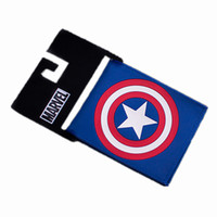 america japan - Marvel Comics The Avengers Captain America wallet Mens Wallet Thin Wallets Purse Women Wallet Baelerry Pouch Money Bag