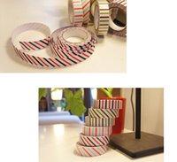Wholesale DIY Self Adhesive Decoration Cotton Fabric Tape Mixed Color Rolls m cm
