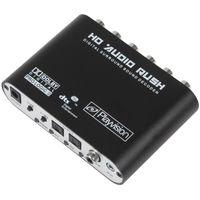 Wholesale Mini Channel DTS AC3 HD Audio Digital splitter Surround Sound Decoder for HD Players DVD XBOX360 HMP_442