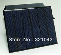 Wholesale 6V mA W Solar Panels Small Solar Power v DIY Battery Charge Solar Led Light Solar Cell mm