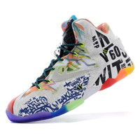 Wholesale LeBron basketball shoes soldiers Lebron XI What the Lebron Basketball Shoes Sneakers Elite Playoffs Athletic Shoes Size US Euro41