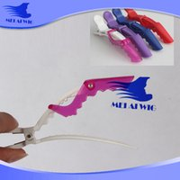 Wholesale Crocodile Clips hair Clip Wig Wear Clips Beauty hair salon Stylish Tools Wig Accessory tools