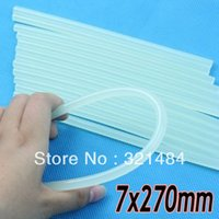 Wholesale Free ship x270mm Jewelry Bead Making Tools DIY Clear Glue Adhesive Sticks For Hot Melt Gun Car Audio Craft