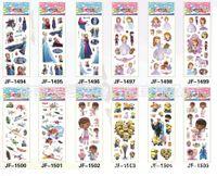Wholesale 5000 sheets frozen stickers cartoon Frozen Princesses Olaf Anna Elsa Stickers Party Favors Kids Cute PVC D Puffy Stickers