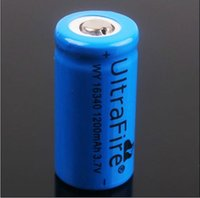 Wholesale Excellent Ultrafire lithium ion V mAh Rechargeable Battery for LED Flashlight Laser pen Toy