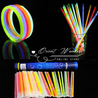 Wholesale Freeshipping hot sale Glow stick LED lightstick for holiday party Fluorescence flash stick With cylinder box