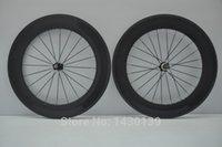 aero spoke rims - New arrival C mm tubular rim Road bicycle carbon wheelset K full carbon bike wheelset with hub aero spoke skewers