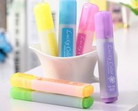 Wholesale 2015 new arrival mix color markers and highlighters pens highlighter pen