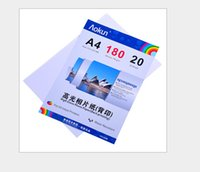 Wholesale Express Free Value Gloss Glossy Photo Paper back printing A4 g Sheets inkjet waterproof paper photo paper for Inkjet Prints