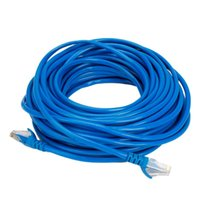 Wholesale Network Cable FT Patch Cable Cat5E Network Ethernet LAN Cable CAT5 E Blue Ship From USA CL096BU