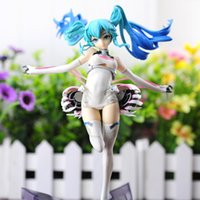 anime figures sexy - Anime Hatsune Miku Racing Miku Sexy PVC Action Figure Collection Model Kids Toy cm