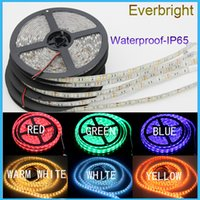 led light tape - waterproof IP65 M LEDs SMD single color Flexible led strip light cool white warm white leds M led tape Meters roll Red Gree