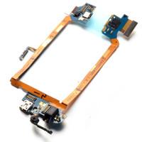 Cheap 2015 Newest Mic Headphone Jack USB Charging Port Flex Cable For LG G2 D800 D801 D803