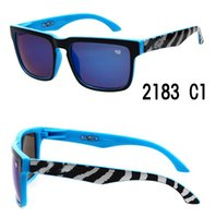 Cheap Polarized Sun Glasses Fashion Design Sunglass OPTIC KEN BLOCK HELM Sports Sunglasses Zebra Mens Sun Glasses Cycling SPYken block 20pcs lot
