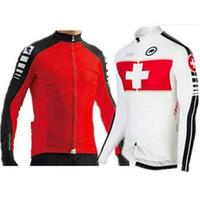 Wholesale assos pro team Cycling jersey Long sleeve top Bicicletas Ciclismo Maillot MTB Clothing