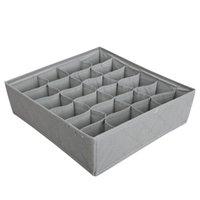 Wholesale Multipurpose in Underwear Bras Socks Storage Organizer Box bag Case Bamboo Charcoal Via DHL
