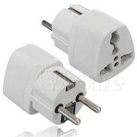 Wholesale Universal US AU UK to EU AC Power Socket Plug Travel Charger Adapter Converter